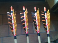 f ts bois pour fl ches traditionnelles archerie tir l 39 arc. Black Bedroom Furniture Sets. Home Design Ideas