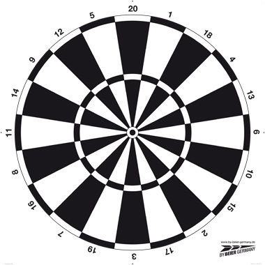 "Face for Targets ""fun dart"""