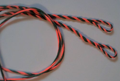 Flamish bowstring Dacron 2 colors