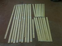Bamboo and carbon laminations