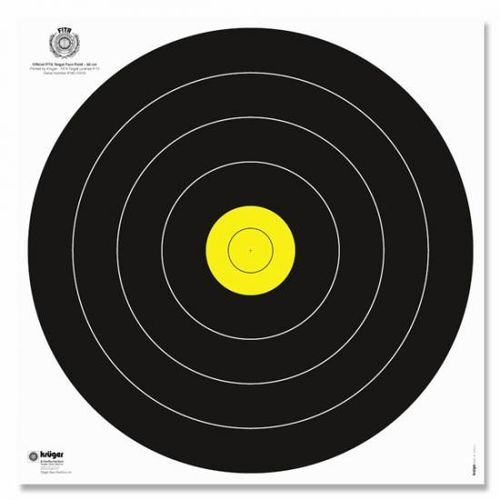 Field Target Face 20, 40, 60 or 80 cm