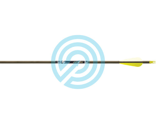 "Gold Tip Arrow Youth Lightning 28"" with 2.5"" Vanes pack 12"